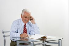 Free Businessman Grandfather Stock Photo - 3372260