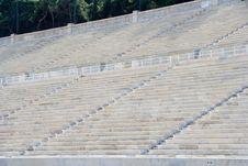 Free Ancient Stadium Seating Royalty Free Stock Image - 3373406