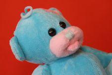Free Blue Teddy Bear 3 Stock Photos - 3373433