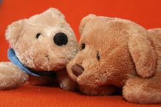 Free Teddy Bears 4 Stock Photo - 3373500
