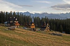 Free Tatras From Glodowka Royalty Free Stock Photos - 3374328