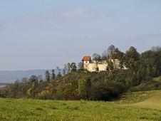 Free Castle Königsberg In Bavaria Royalty Free Stock Image - 3374656
