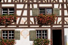 Free Half Timbered Homestead Royalty Free Stock Photo - 3374925