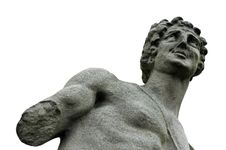 Free Armless Male Sculpture Stock Images - 3375304