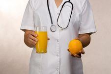 Free Orange Juice Or Orange Fruit Royalty Free Stock Photo - 3375445