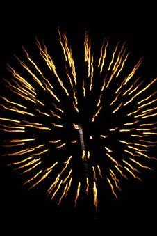 Free Firework Flower Royalty Free Stock Photo - 3375975