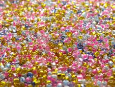 Free Beads Background 4 Stock Photos - 3376263