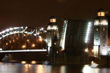 Saint-Petersburg, Bridge. Stock Images