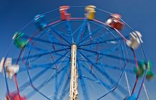 Free Ferris Wheel In Balboa Royalty Free Stock Photos - 3376788