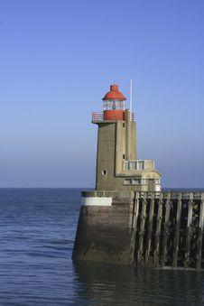 Free Fecamp Lighthouse Stock Photo - 3377510