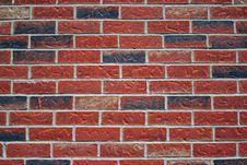 Free Brick Wall. Royalty Free Stock Photography - 3378327