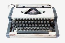 Free Old Typewriter Stock Images - 3378504