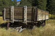 Free Wooden Farm Wagon Royalty Free Stock Images - 3379669