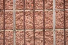 Free Abstract Striped Red Brick Royalty Free Stock Photos - 3379988