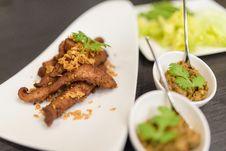Free Grilled Pork Shoulder Stock Images - 33700724