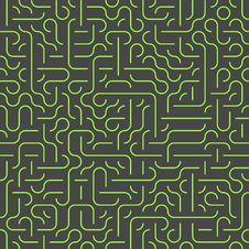 Free Seamless Maze Background Royalty Free Stock Photography - 33701457