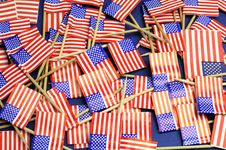 Free Abstract Background Of USA Stars And Stripes Royalty Free Stock Photo - 33709905