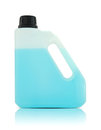 Free Plastic Gallon With Blue Liquid Royalty Free Stock Photography - 33712437