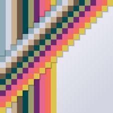 Free Background With Squares And Stripes Royalty Free Stock Photos - 33712518