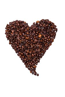 Free Coffee Beans Royalty Free Stock Photography - 33714327