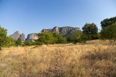 Free Greece. Meteora Royalty Free Stock Image - 33715646