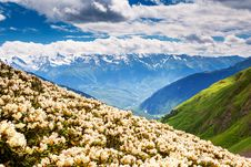Free Mountain Landscape Royalty Free Stock Image - 33716796