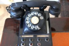 Free Old Telephone Stock Photography - 33717682