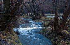 Free Winter Stream Royalty Free Stock Photo - 33718355