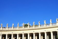 Free St. Peters Square Vatican City Royalty Free Stock Photos - 33718988