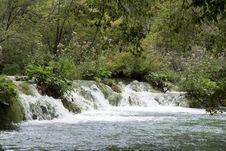 Free Waterfall In Croatia Royalty Free Stock Image - 33723256