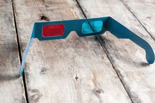 Free 3d Glasses Stock Photography - 33724842