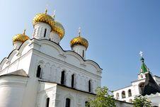 Golden Ring Of Russia. Trinity &x28;Troitsky&x29; Cathedra Royalty Free Stock Photo