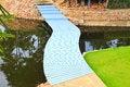 Free Colorful Walk Way Bridge Royalty Free Stock Images - 33731789
