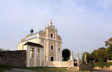 Free Catholic Church Of The Seventeenth Century Stock Image - 33732751
