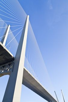 Free Big Suspension Bridge Stock Photography - 33734422