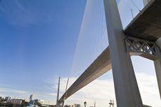 Free Big Suspension Bridge Stock Photos - 33734663