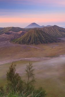 Bromo Volcano Mountain Stock Images
