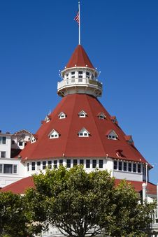 Free Hotel Del Coronado In San Diego, California, USA Royalty Free Stock Photos - 33737448
