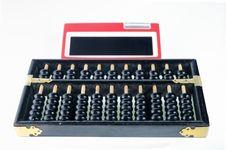 Wood Abacus Royalty Free Stock Image