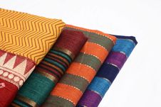 Free Sari Fabric Stock Photography - 33739312