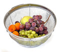 Free Summer Fruits In A Strainer Stock Image - 33742041