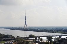 Free Riga. View Of A Television Tower. Royalty Free Stock Photography - 33746687