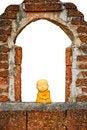 Free Ceramic Thai Monk Royalty Free Stock Photo - 33758295