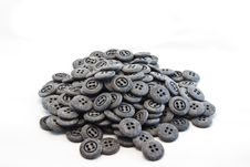 Free Many Black Button Stock Photography - 33750272