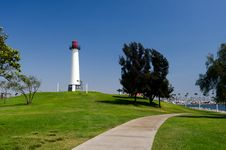 Lighthouse Park Royalty Free Stock Images