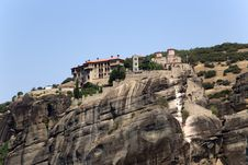 Free Greece, Meteora. The Holy Monastery Of Varlaam Stock Images - 33751234