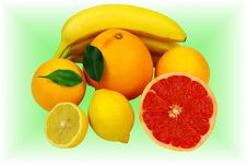Free Tropical Fruit. Stock Photography - 33756642
