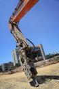 Free Excavator,hydraulic Arm Royalty Free Stock Images - 33761919