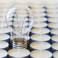 Free Electric Light Bulb Stock Photography - 33763602