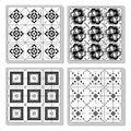 Free Set Of Tiles Royalty Free Stock Image - 33767226